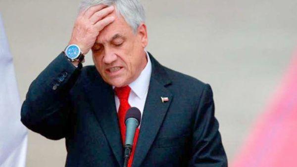 Aprobación de Piñera sigue en picada y llega a mínimos históricos