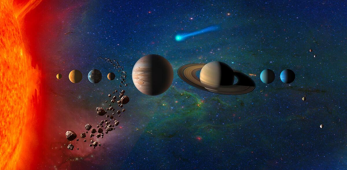 Científicos descubren que el espacio es más denso fuera del sistema solar