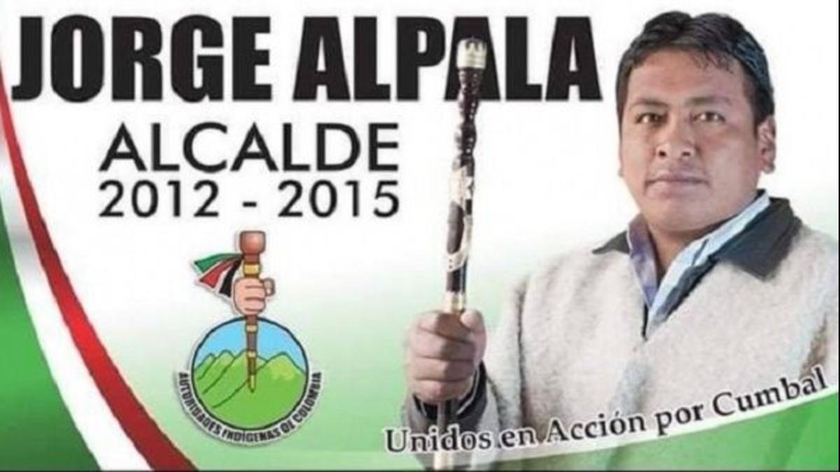 Asesinan a líder indígena colombiano Jorge Alpala