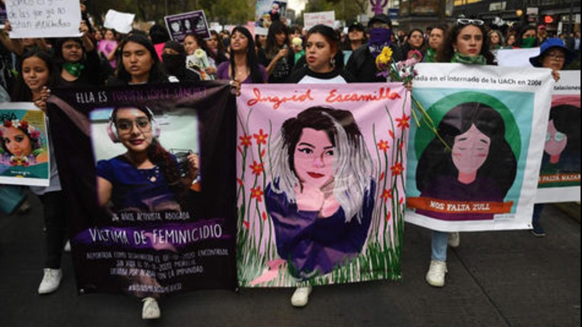 Pena contra feminicidas podría elevarse a 65 años de cárcel en México