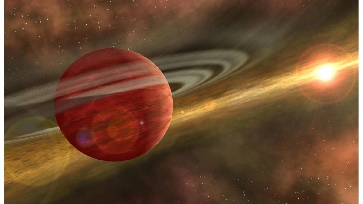 Científicos descubren planeta gigantesco ubicado en una constelación cercana
