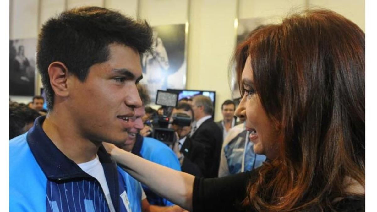 Cristina Fernández se une a luto nacional por la muerte de Braian Toledo