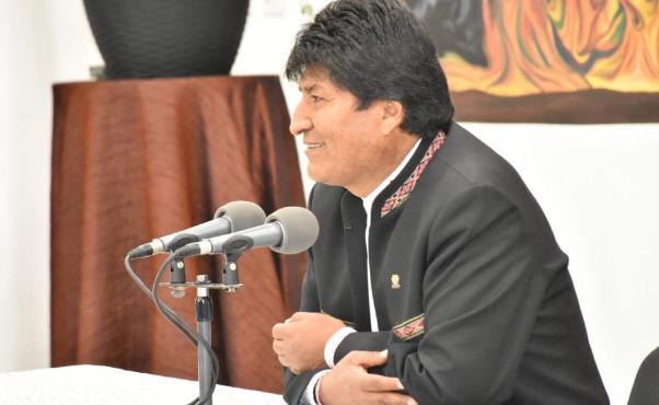 """Evo Morales: """"Por instrucción de la embajada de Estados Unidos  no aprobaron mi candidatura"""""""