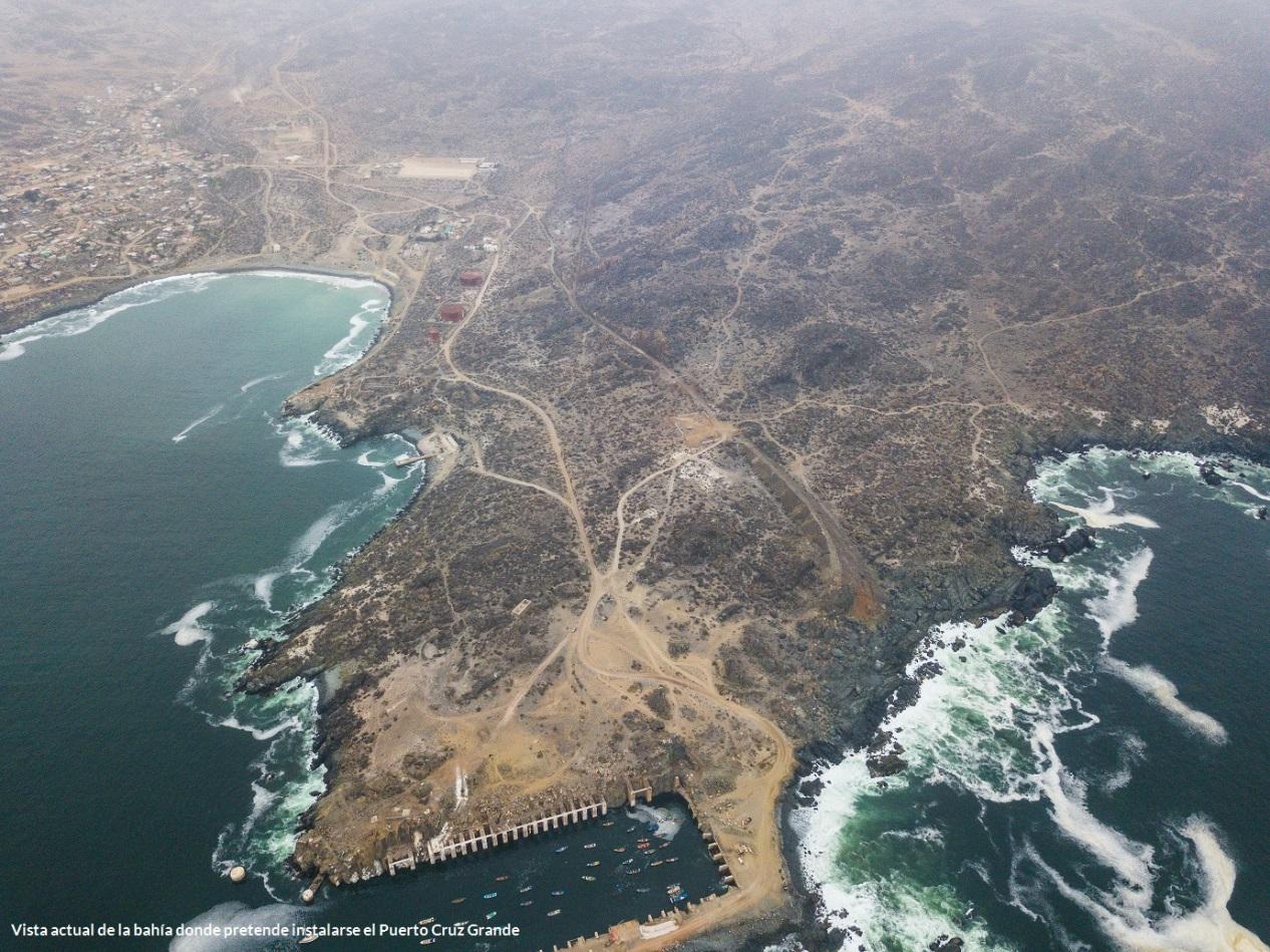 Oceana solicita caducar permiso ambiental de Puerto Cruz Grande de CAP