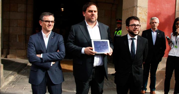 La Justicia procesa a uno de los independentistas de la mesa España-Cataluña