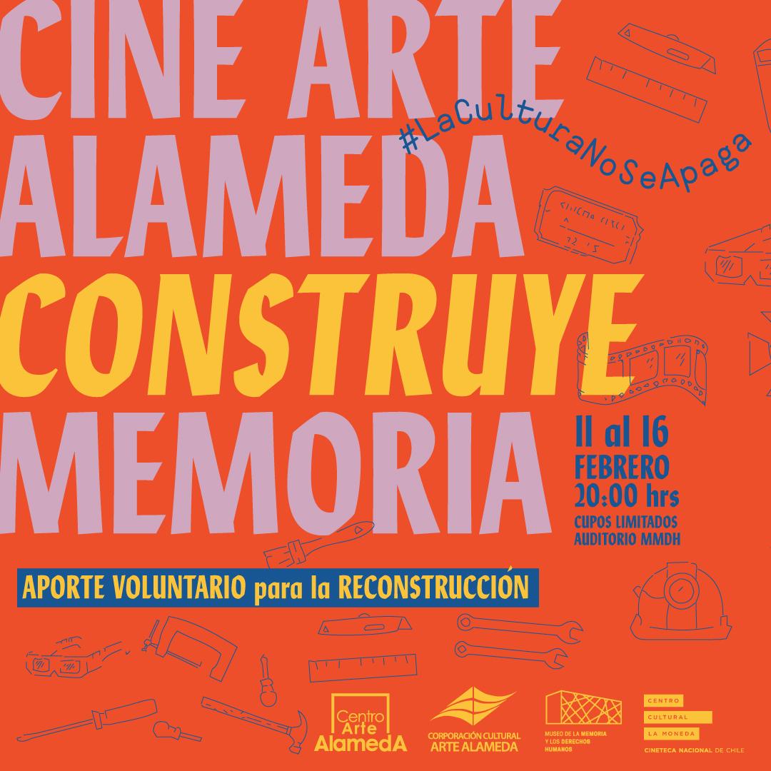 #La cultura no se apaga: Museo de la Memoria y Centro Arte Alameda se unen para organizar ciclo de cine
