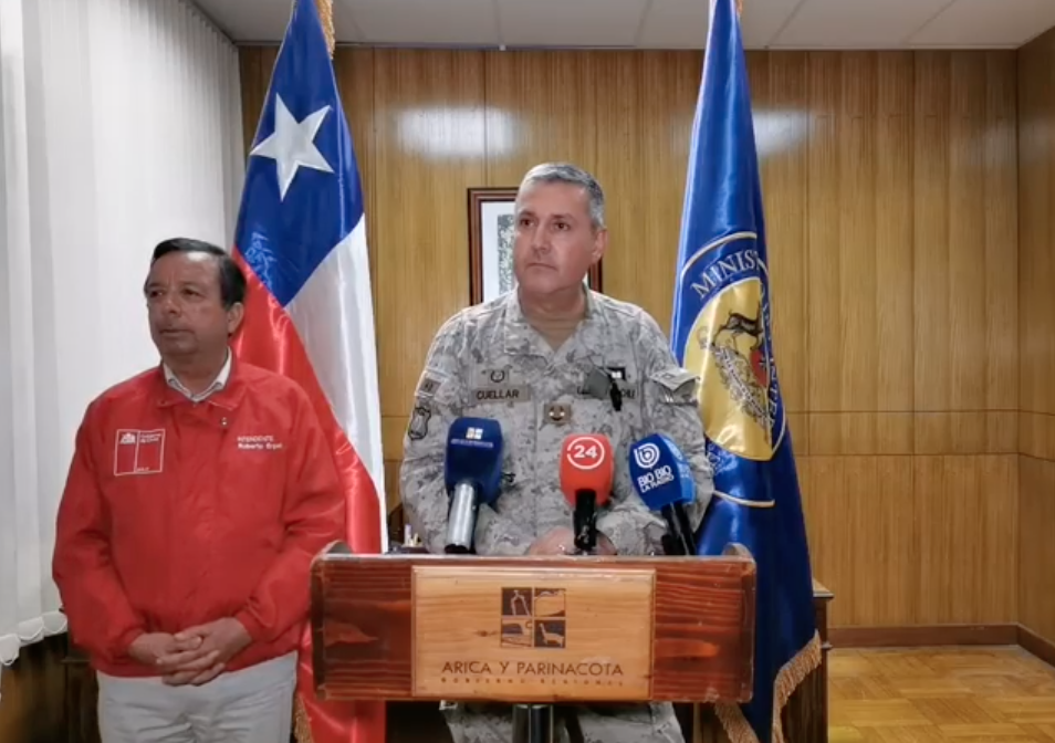 """Jefe de Defensa de Arica descartó cuarentena decretada por alcalde por considerarla """"extremadamente restrictiva"""""""
