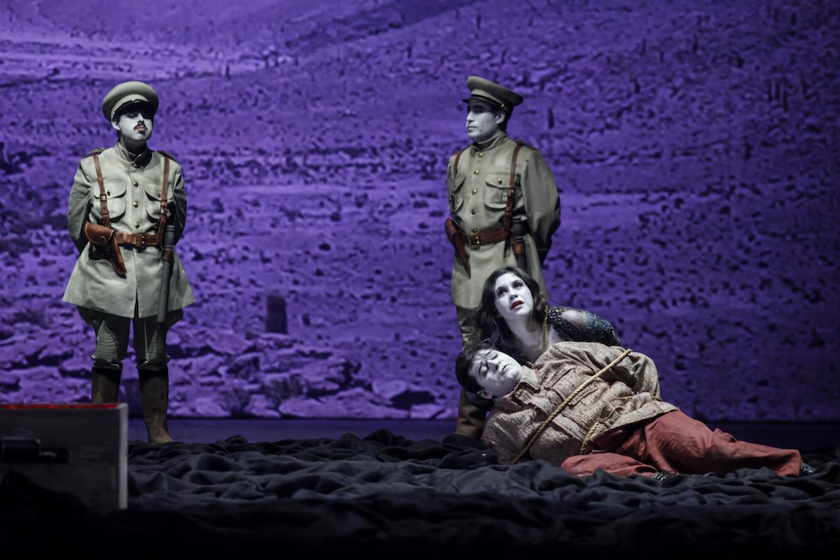 'Municipal Delivery' presenta la ópera chilena «El Cristo de Elqui»