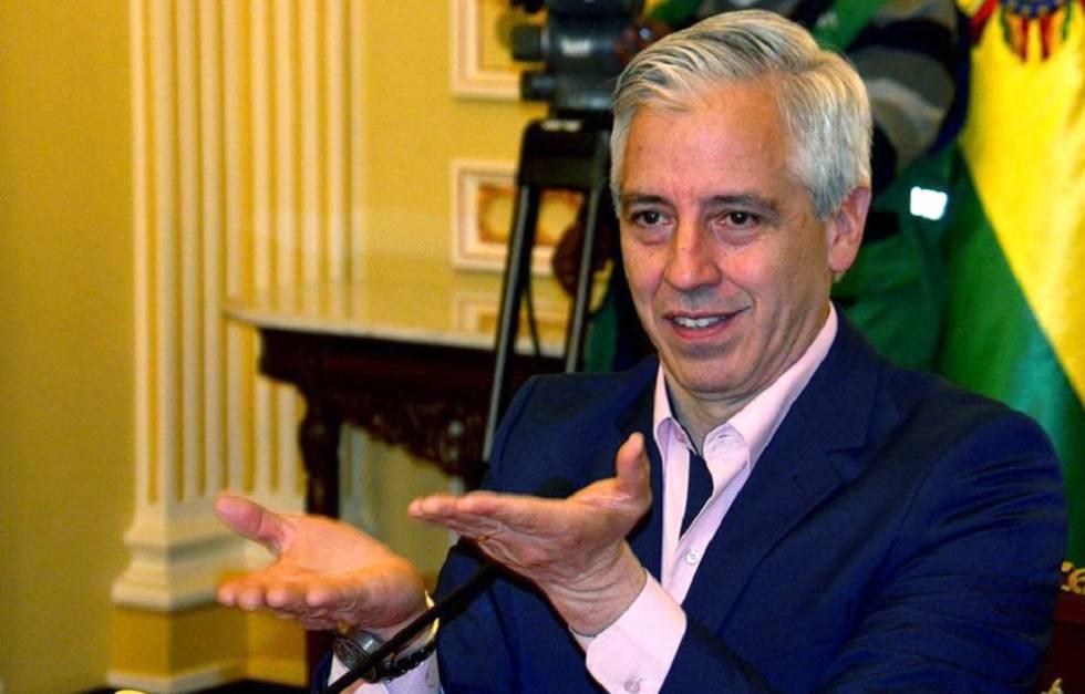 Exvicepresidente de Bolivia llega a España y participa en diversas conferencias