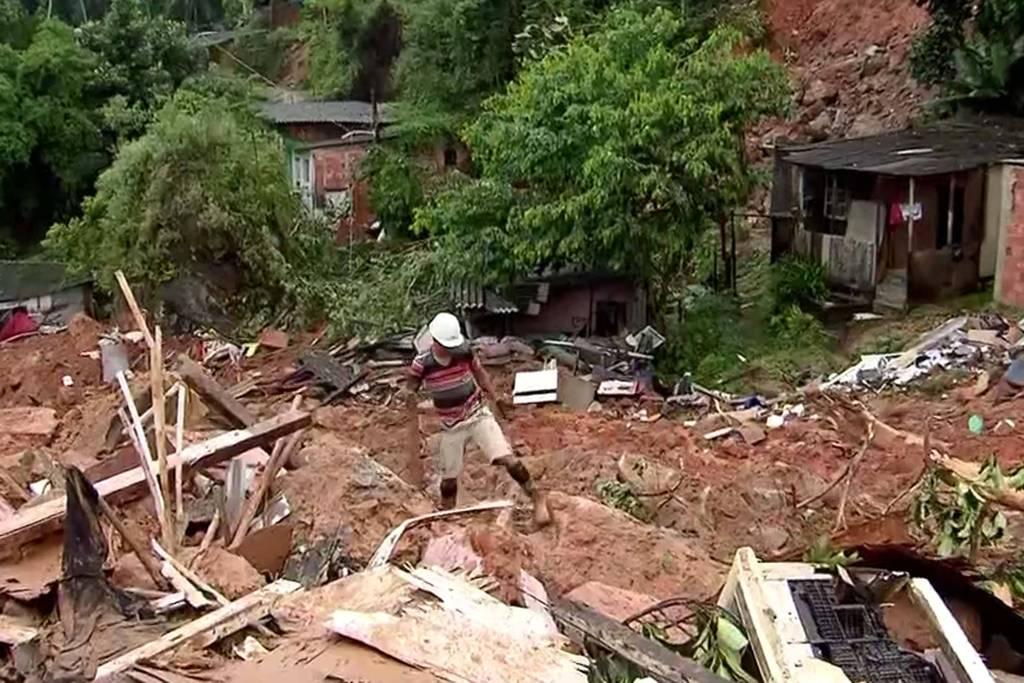 Sube a 21 cifra de muertos por intensas lluvias en el estado brasileño de Sao Paulo
