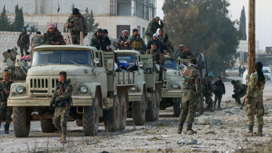 Ejército sirio responderá con firmeza a cualquier incumplimiento de la tregua
