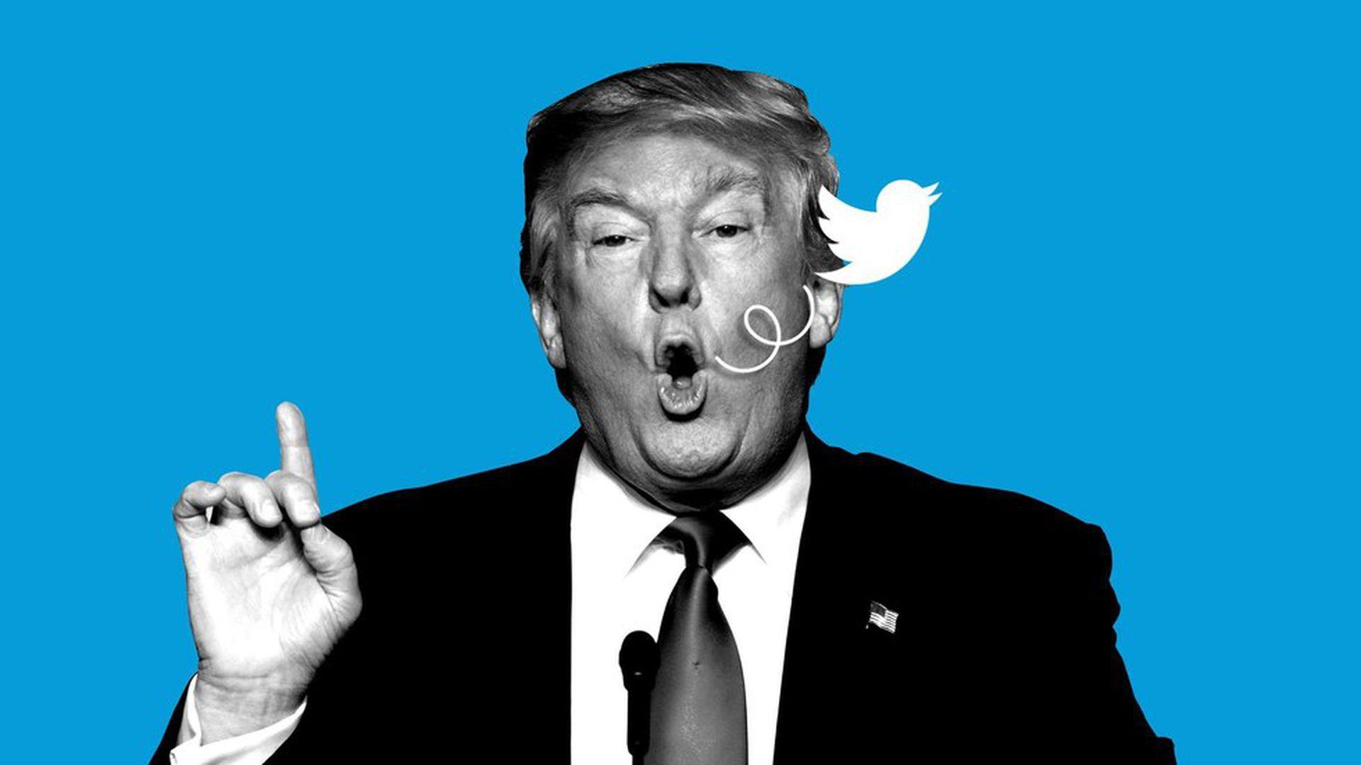 Trump usa a uno de sus contribuyentes para tomar control de Twitter