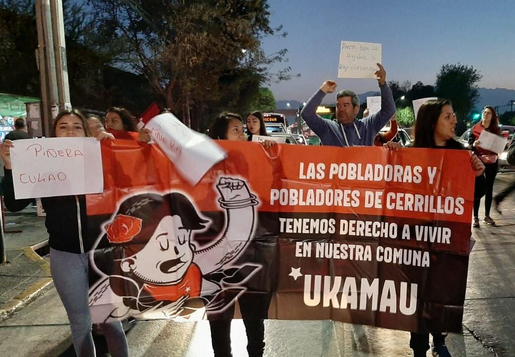 Con protestas de pobladores y automovilistas, evasiones y llamados a la Huelga General comenzó esperado marzo