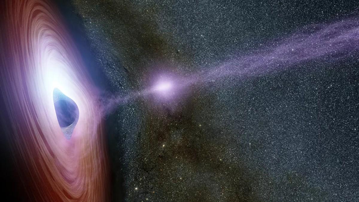 Descubren conexión entre la Tierra y el agujero negro más antiguo y lejano