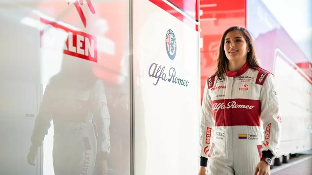 Pilota Tatiana Calderón: «Necesitamos referentes femeninos, pero no los hay en las categorías superiores»