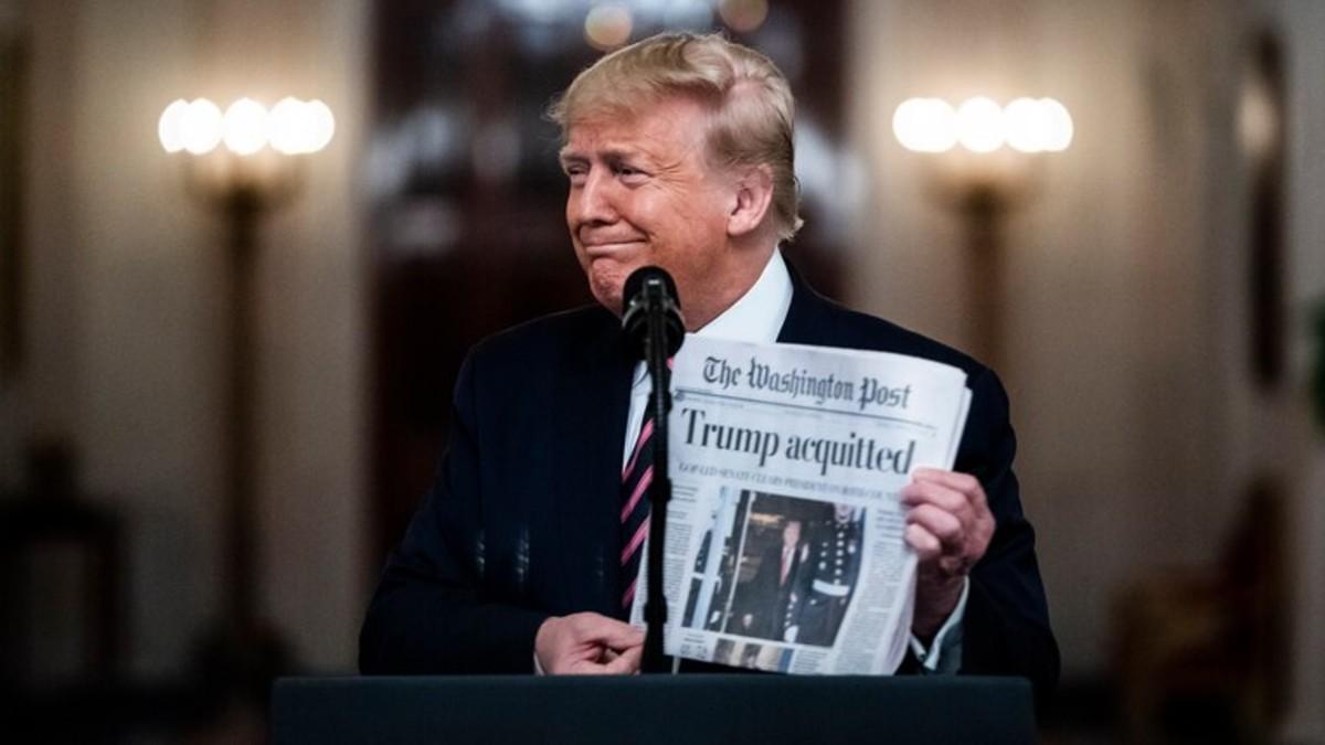 The Washington Post recibe demanda por publicar «Fake News» de Trump