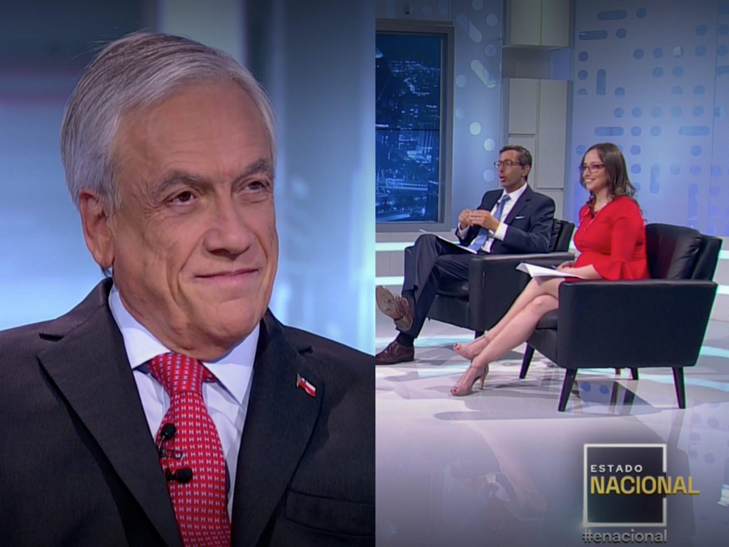"""""""Qué vergüenza para la profesión"""": Hacen pebre entrevista de TVN en donde Piñera miente nuevamente"""