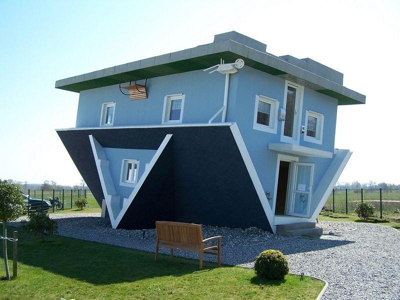La casa invertida de Sudáfrica invita a ver el mundo desde otra perspectiva