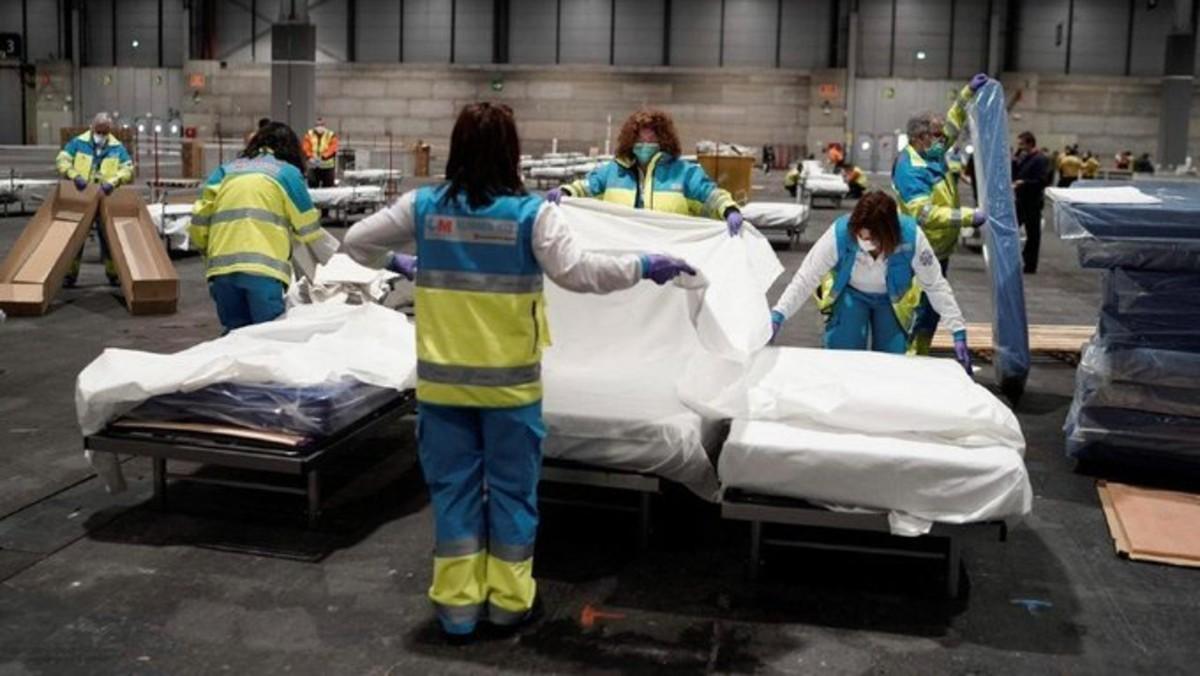 España suma otros 4.500 casos de Coronavirus y casi 500 muertos en un día