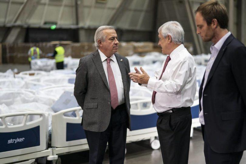 Frente a críticas Mañalich revela costo de arriendo de Espacio Riesco: $20 millones al mes