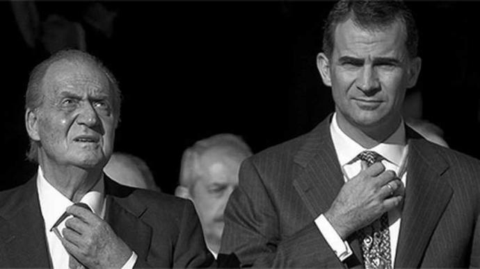 Felipe VI's move to disown his father and his attempt to try to save the Spanish Crown