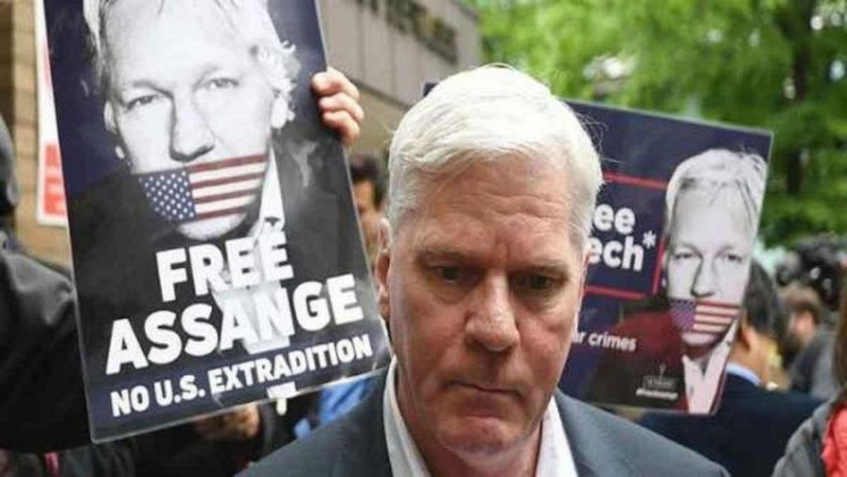 El director de WikiLeaks desconfía del sistema judicial británico