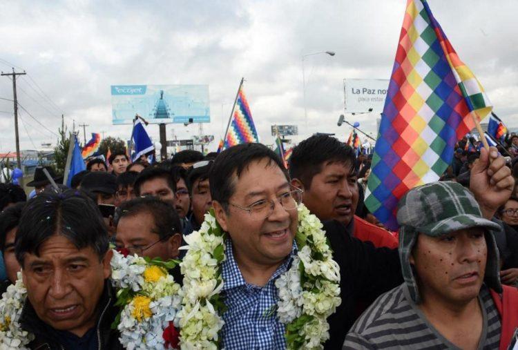 Personalidades del mundo felicitan a Luis Arce por su victoria en Bolivia