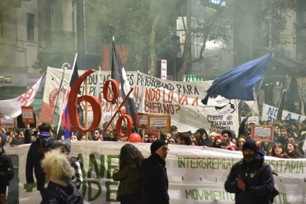 Central sindical de Uruguay realiza primer paro general contra nuevo Gobierno