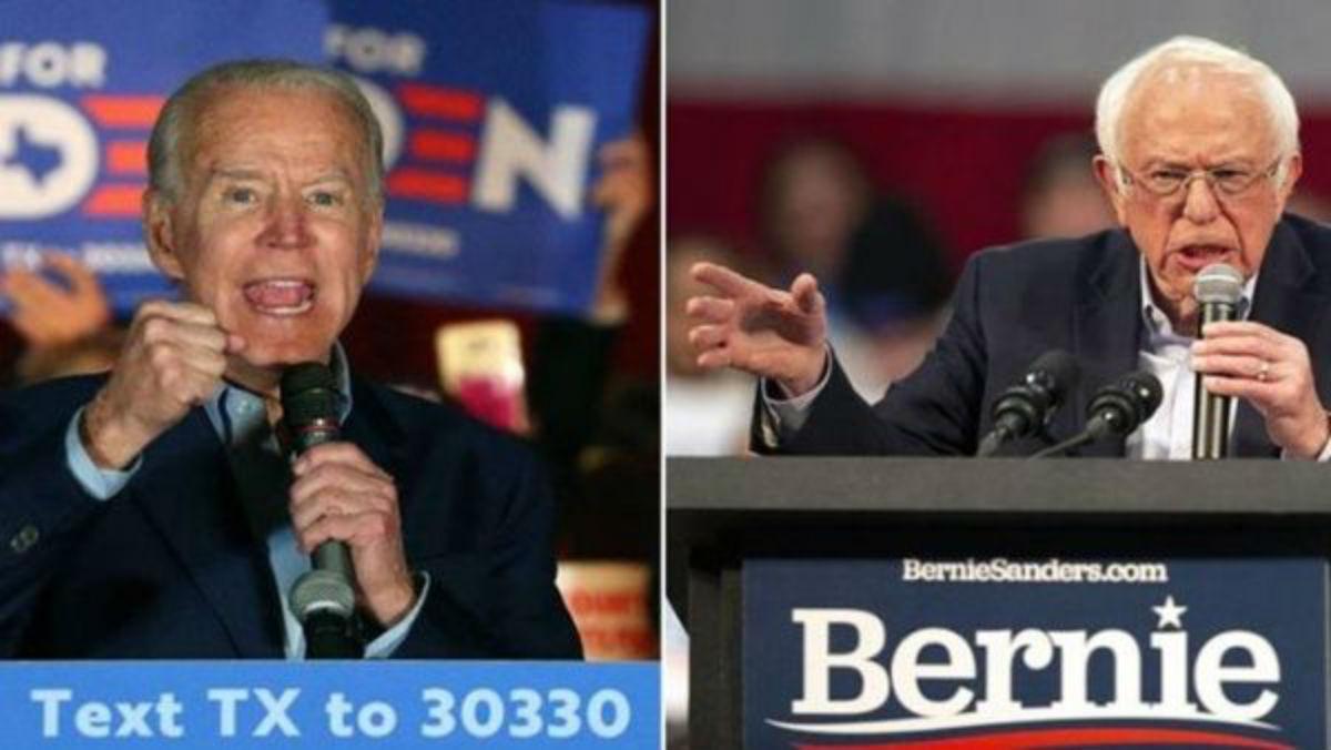 Sanders y Biden son los vencedores en la lucha demócrata de los «supermartes»