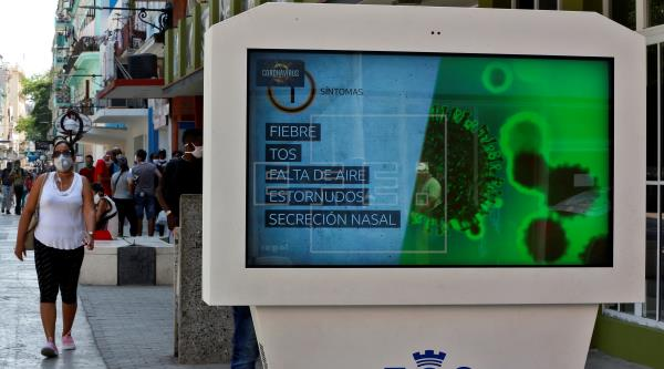 Cuba ha dado de alta a 309 pacientes de COVID-19 y mantiene 800 infectados