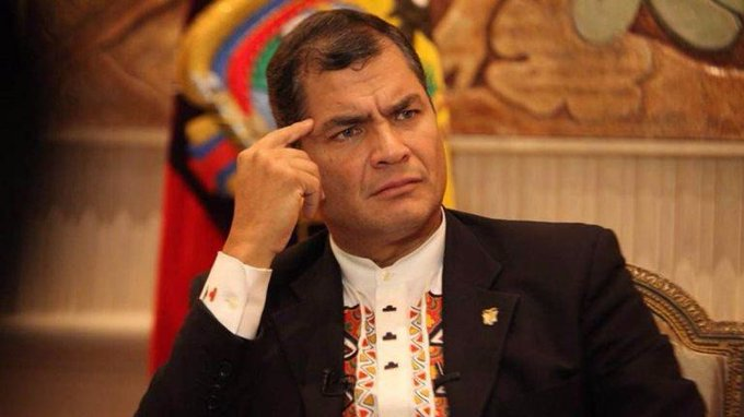 Tras sentencia de 8 años de prisión, Correa dice que estaban desesperados por condenarlo por algo
