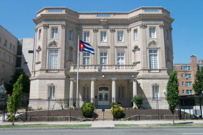Cuba exige investigación por grave agresión terrorista contra su Embajada en Washington