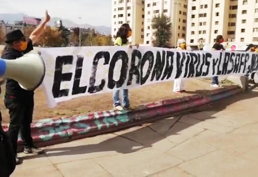 Aumentan manifestaciones públicas: NO+AFP protestó en la Plaza de la Dignidad