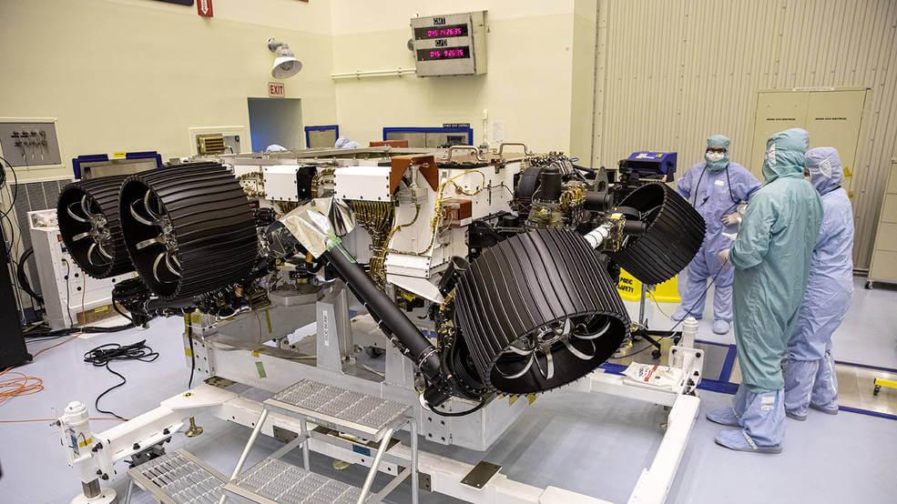 11 millones de nombres viajarán a Marte con la misión del rover Perseverance