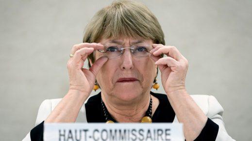 Bachelet advierte sobre militarización de Brasil en los asuntos públicos
