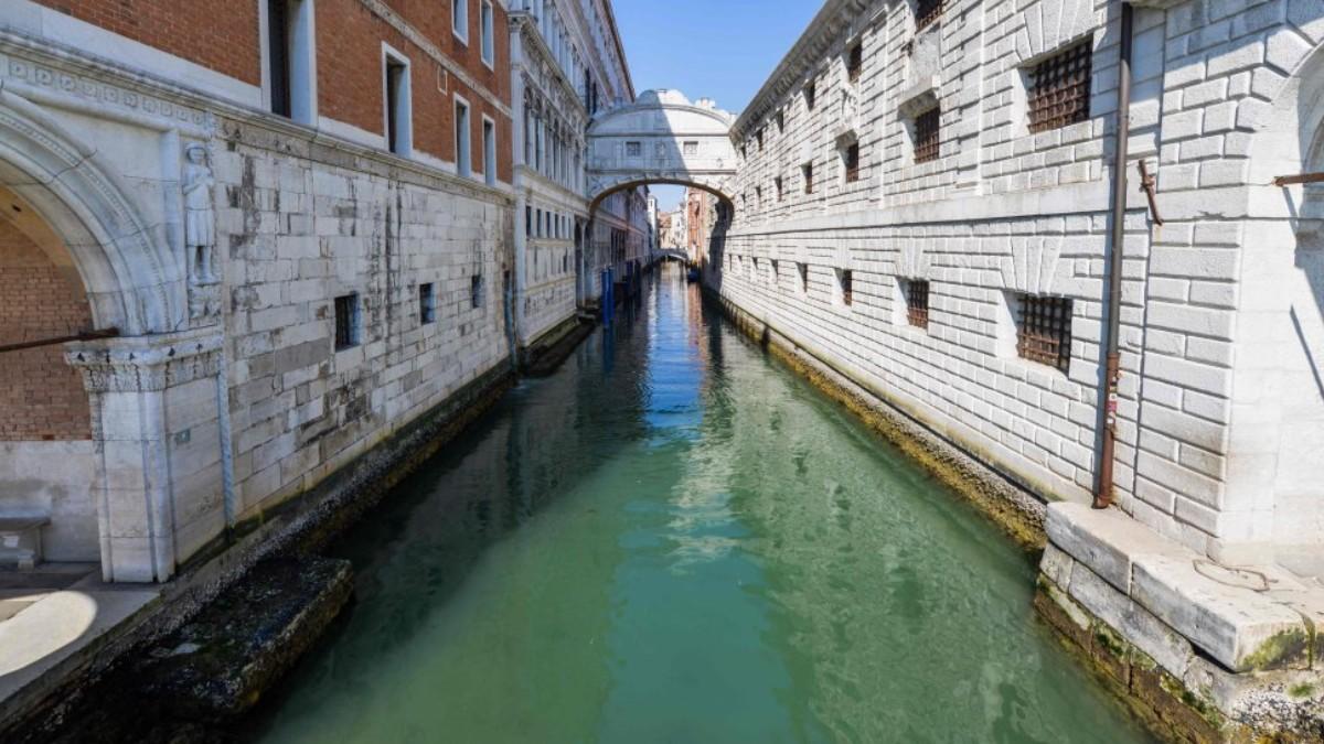 (Foto y video) NASA muestra imágenes impactantes de Venecia durante la pandemia de COVID-19