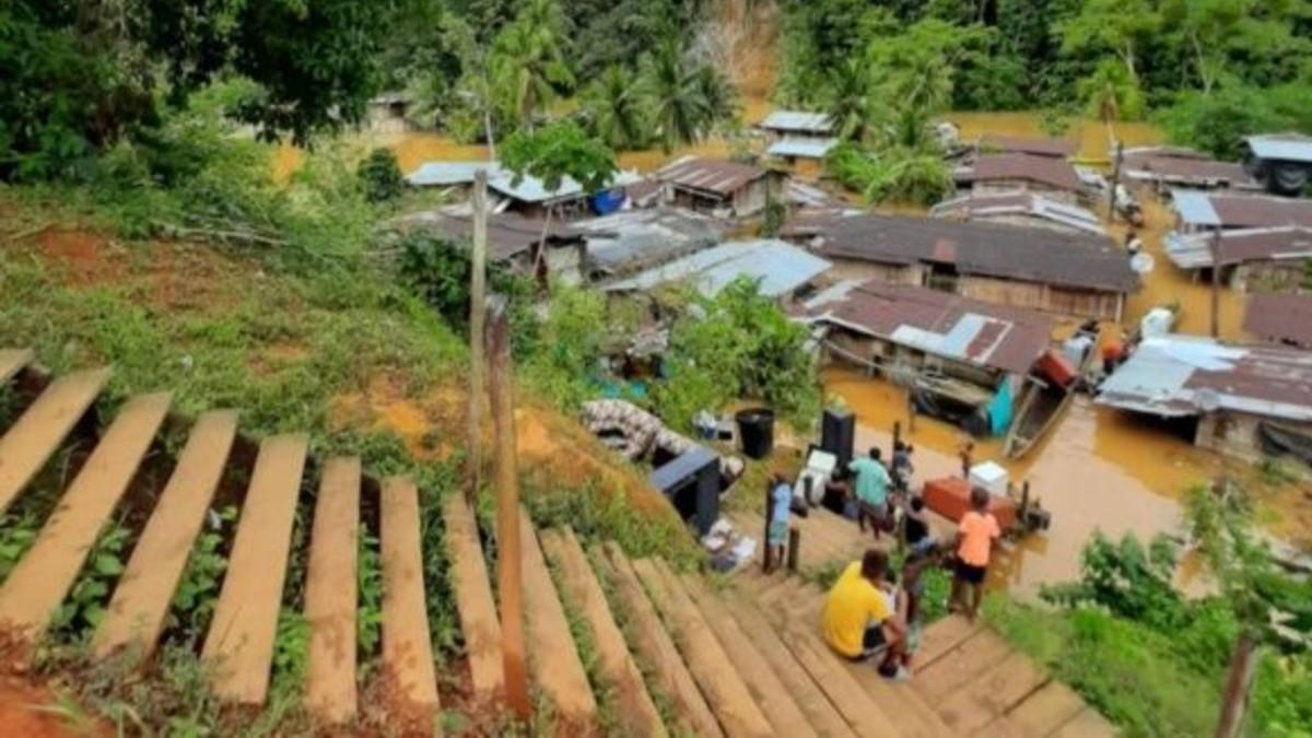 Colombia: Al menos 80 familias indígenas han sido afectadas por inundaciones en Chocó