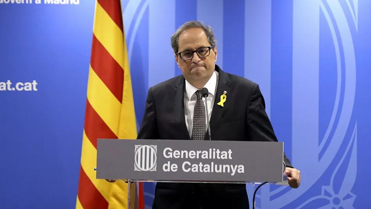 El presidente de Cataluña exige respetar el derecho a manifestar de los independentistas