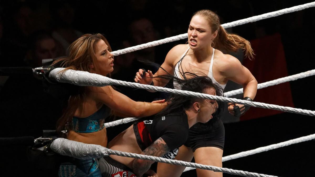 Ronda Rousey afirma que la lucha libre es una farsa