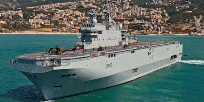 Francia también enviará buque de guerra al Caribe