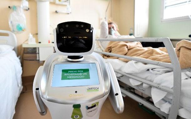 ¿Cómo los robots ayudan a  cuidar a los enfermos de coronavirus en Italia?