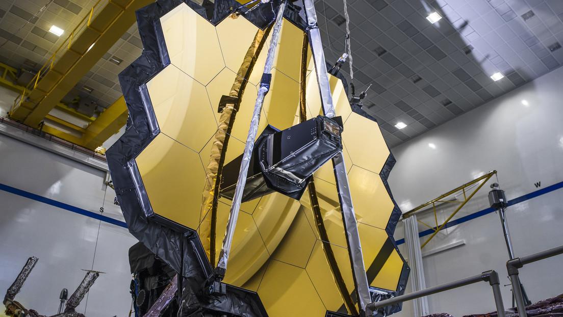(Video) NASA desarrolla pruebas finales del telescospio espacial que sustituirá al famoso Hubble
