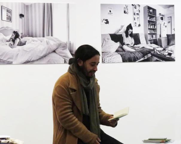 Jorge Polanco Salinas: Poblando la espera