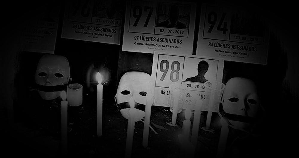Casi uno por día: los asesinatos contra líderes sociales en Colombia