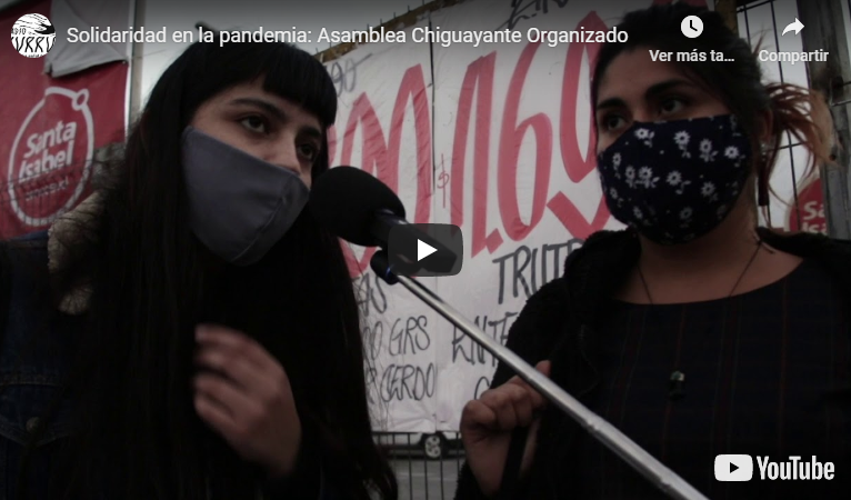 Video: Asamblea Chiguayante Organizado coordina puntos de acopio y colectas de alimentos