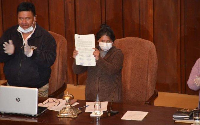 Congreso de Bolivia promulgó ley para celebrar elecciones en 90 días