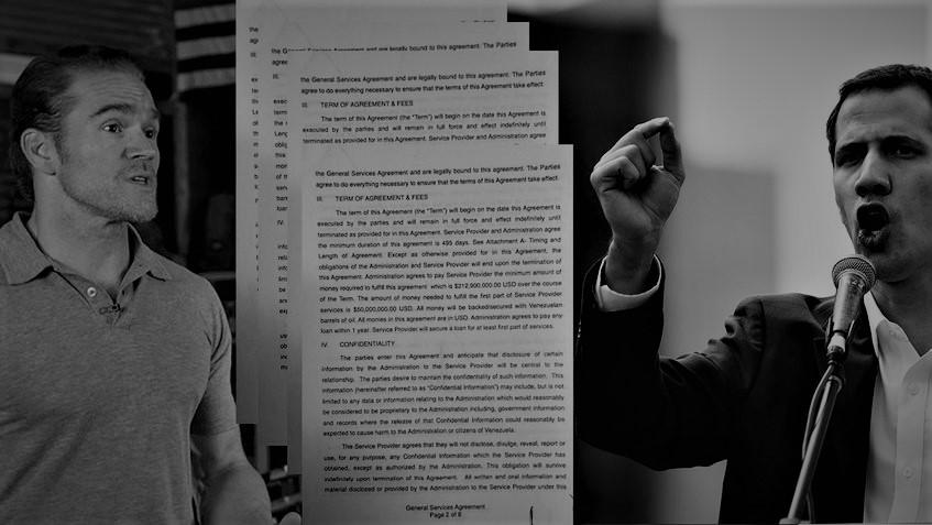 """Jordan Goudreau, CEO de SilverCorp: """"Guaidó está haciendo muchísimo dinero con la liberación de Venezuela"""""""