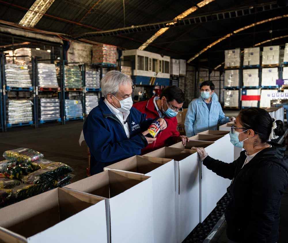 A una semana del inicio de Alimentos Para Chile, el Gobierno ha entregado solo el 5% de las cajas comprometidas