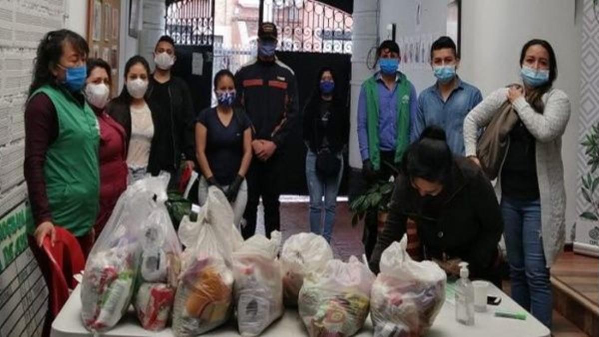 Indígenas colombianos se organizan para recabar insumos médicos ante crisis sanitaria por COVID-19
