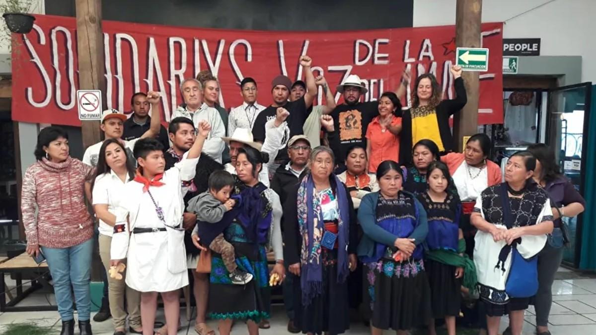 Activistas exigen amnistía para prisioneros indígenas en Chiapas ante riesgo de contagio por COVID-19